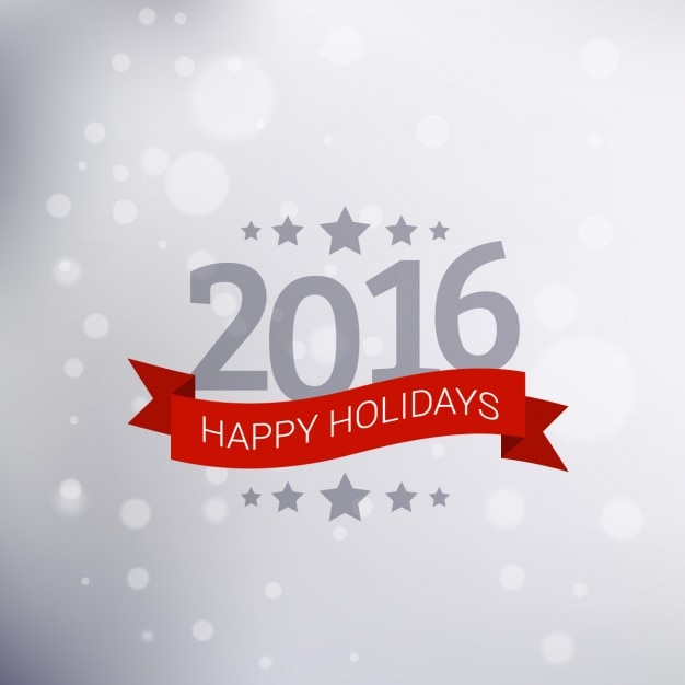 New year happy holidays greeting Vector | Free Download