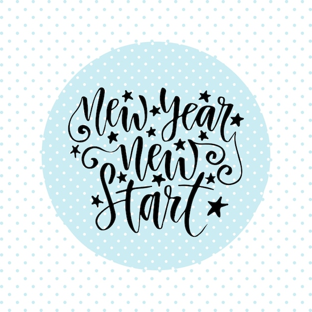 New year start inspirational and motivational