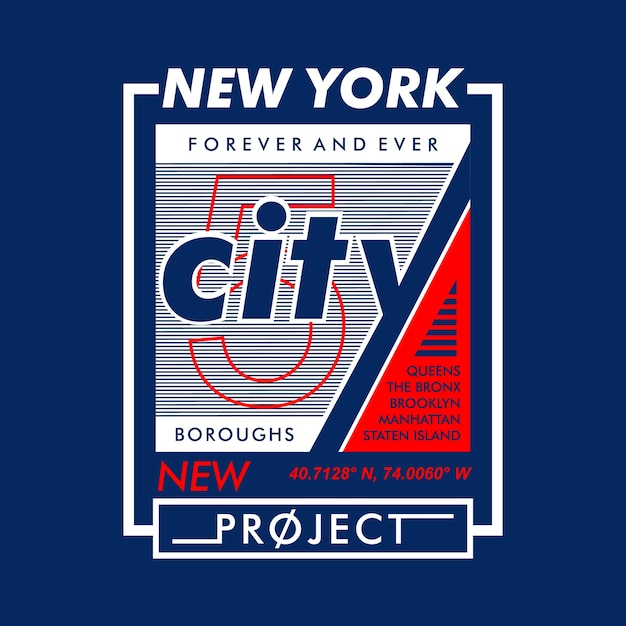 New york city project Premium Vector