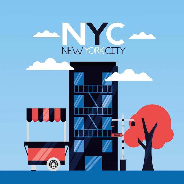 New york city Free Vector