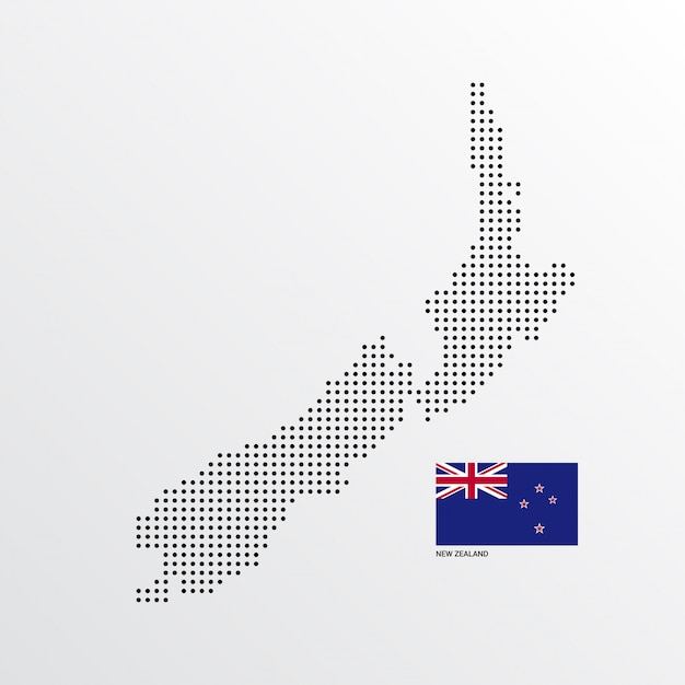 Outline map of new zealand royalty free vector image.