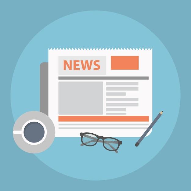News concept Free Vector