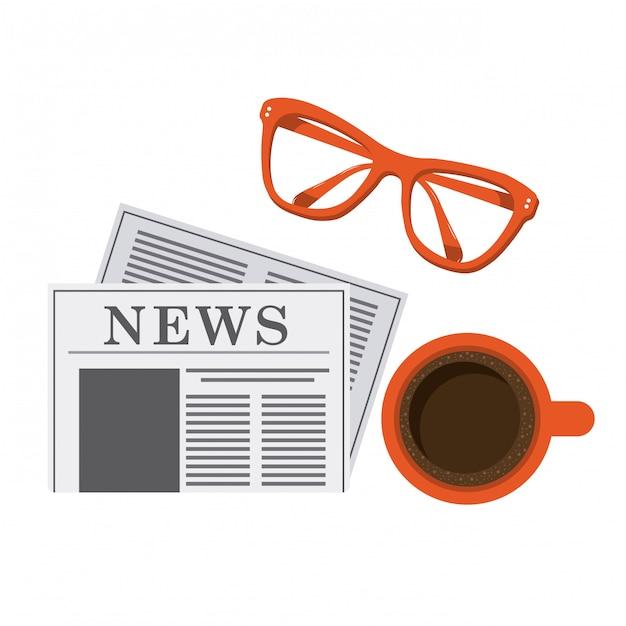 News design Premium Vector