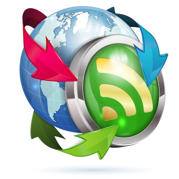 News logo Premium Vector