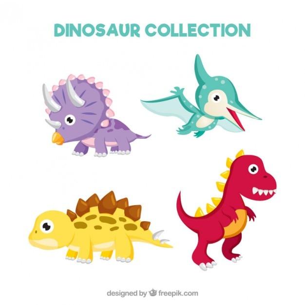 دایناسورها کودک خوب و لذت بخش مجموعه