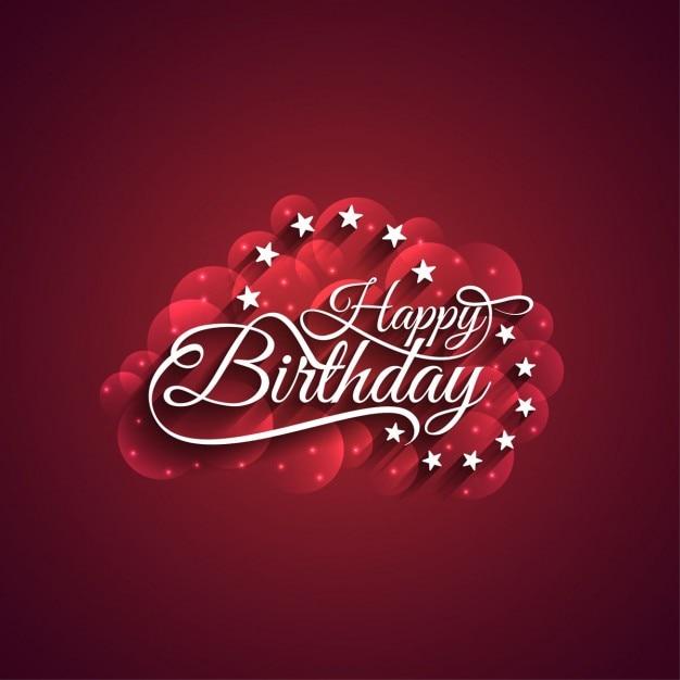 Nice birthday card with stars vector free download nice birthday card with stars free vector m4hsunfo