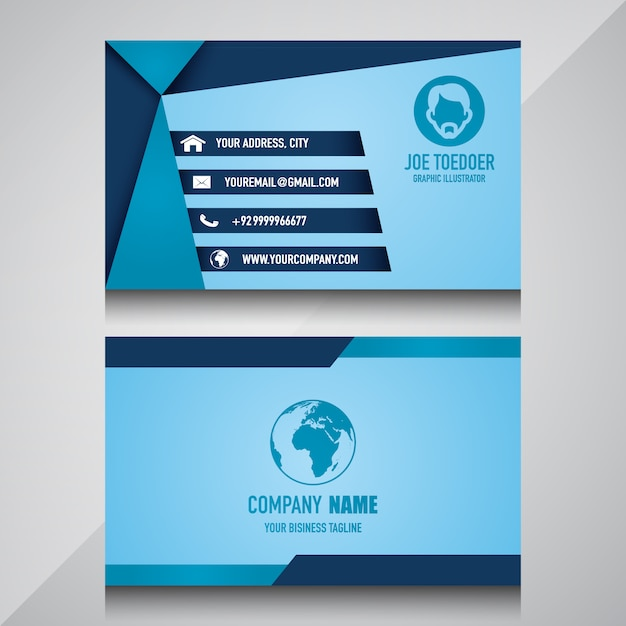 Nice business card template vector premium download nice business card template premium vector colourmoves