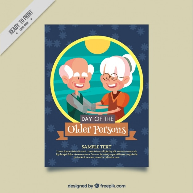 Nice card of older persons day