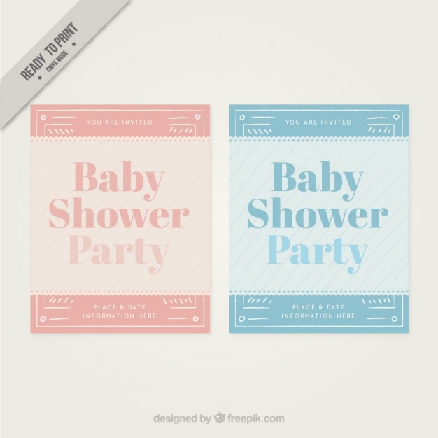Nice cards for baby shower