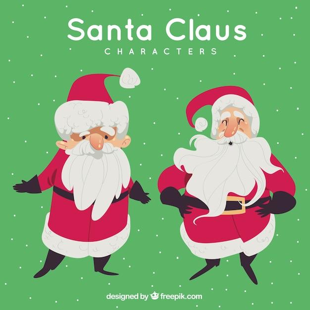 Nice character of santa claus
