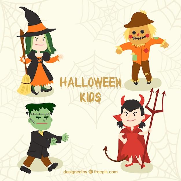 Nice children halloween costumes