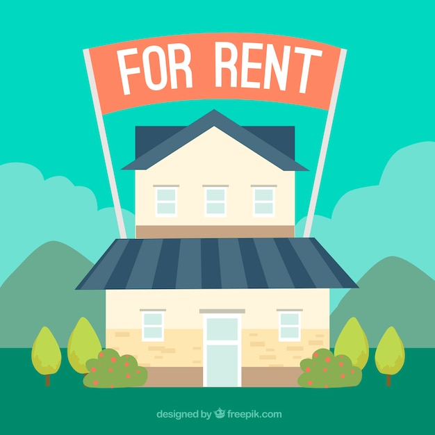 Nice Cheap Houses For Rent: Nice House For Rent Vector