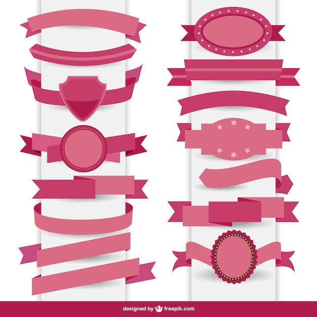 Nice pink ribons