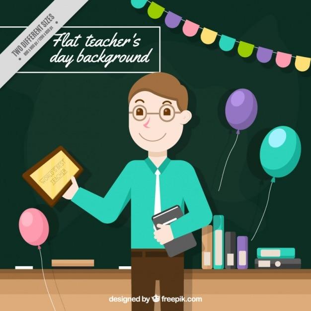Nice teacher\'s day background