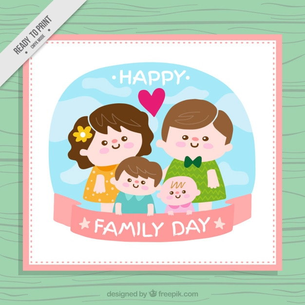 Nice united family card