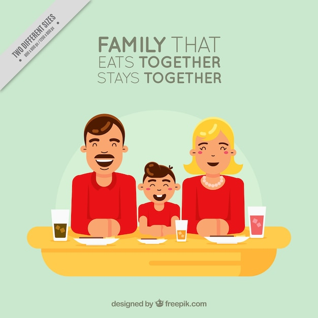 Nice vintage family with inspiring\ message
