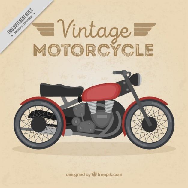 Nice vintage motorcycle background