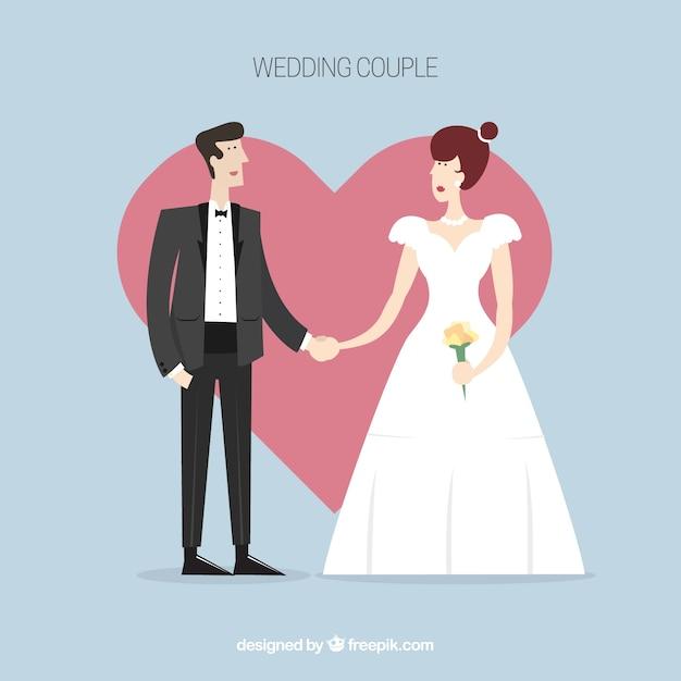 free clipart of wedding couple - photo #35