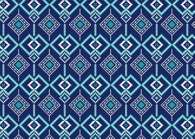 Night shades of songket pattern Premium Vector