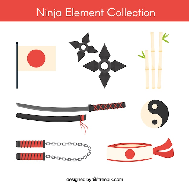 Ninja element collection