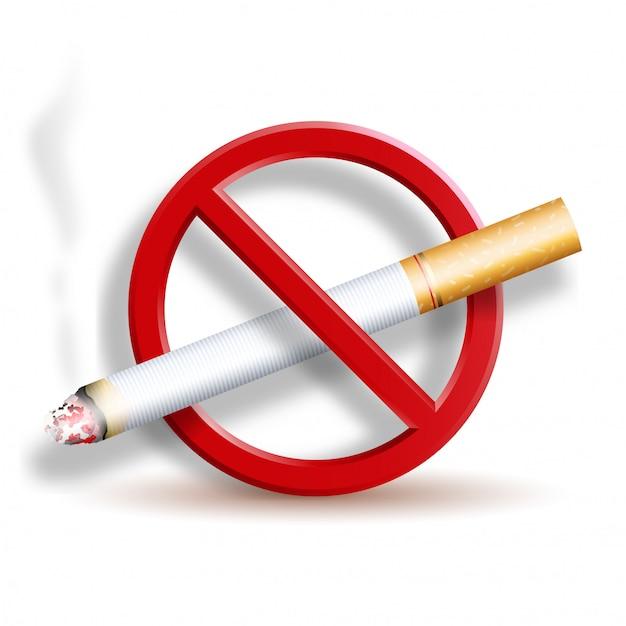 Не курить 3d иконка Premium векторы