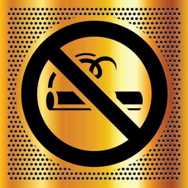 No smoking symbol Premium Vector