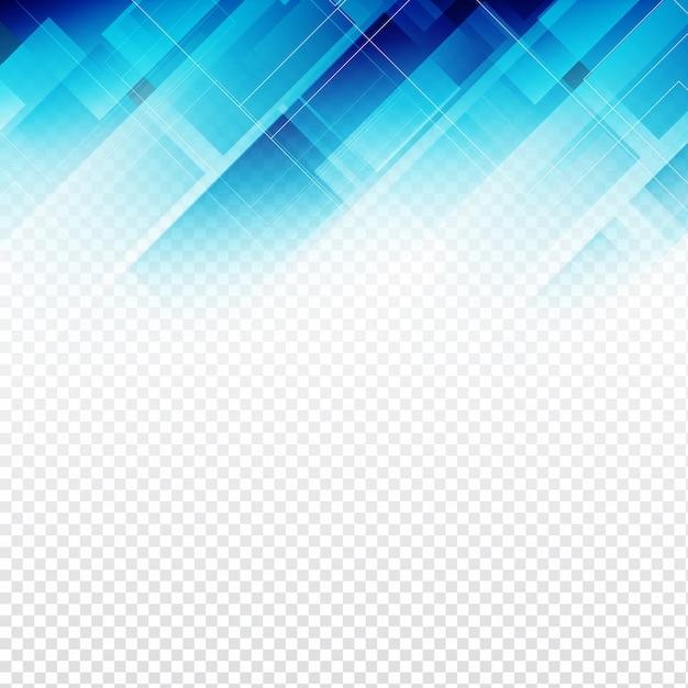 抽象的な透明な青の多角背景 無料ベクター