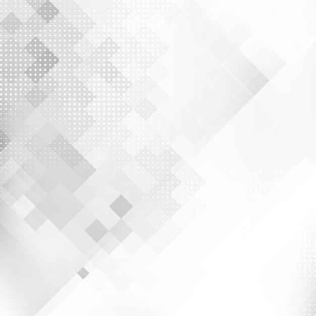 抽象的な灰色の色の幾何学的なモザイクの背景 無料ベクター