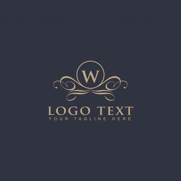装飾用のロゴ 無料ベクター