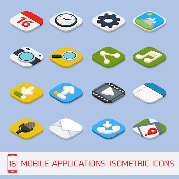 Иконки для мобильных приложений скачать