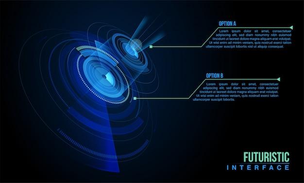 インターネットチップ情報の背景概念 Premiumベクター