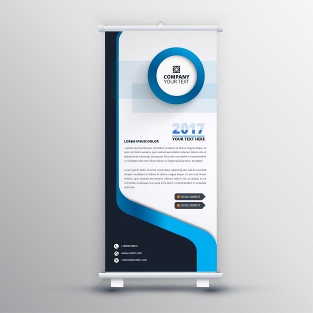 トリコロールロールアップデザイン 無料ベクター