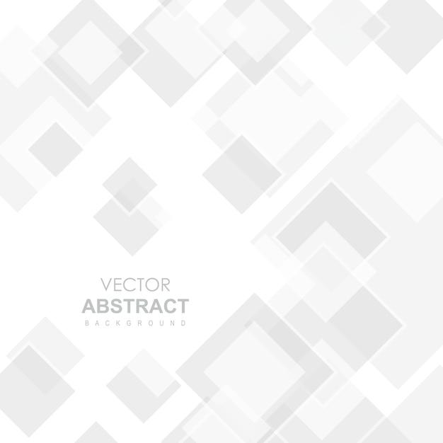 白いベクトルの抽象的な背景 無料ベクター