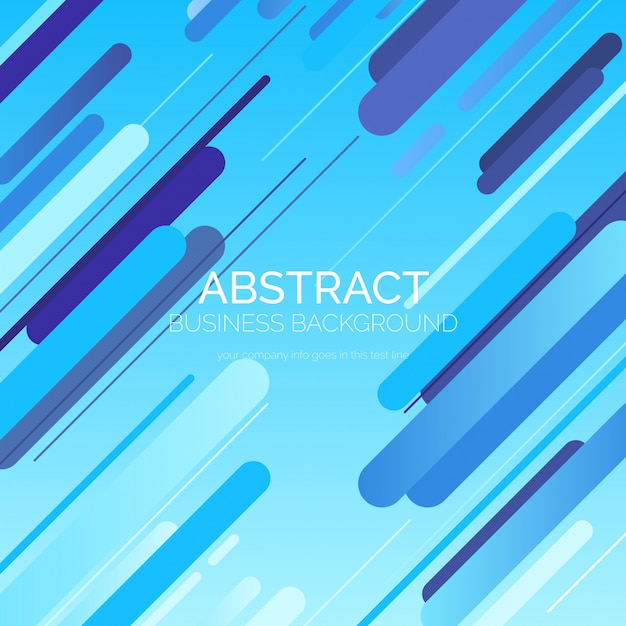 青い抽象的な背景 無料ベクター