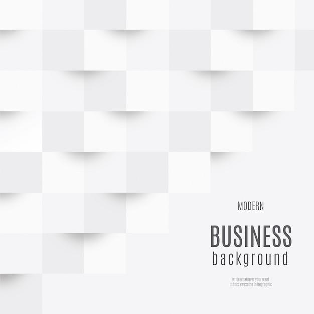 白いビジネスの背景 無料ベクター
