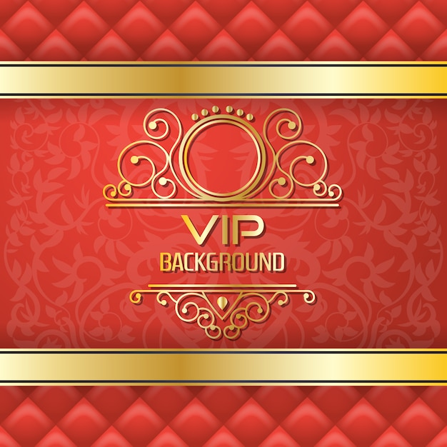 VIPの背景デザイン 無料ベクター