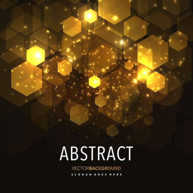 抽象的な輝きの幾何学的背景 無料ベクター