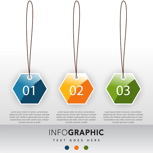 3 Numbers Infographic Illustration Template_1437099 on 2779 Numbers 1 10