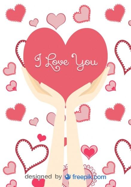 愛のメッセージで大きな心を持っ...