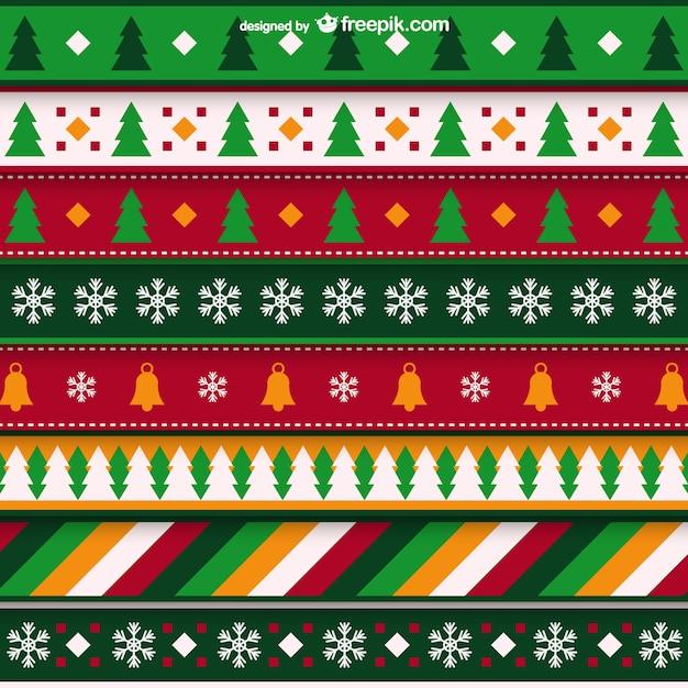 Минималистский Рождество шаблон Бесплатные векторы