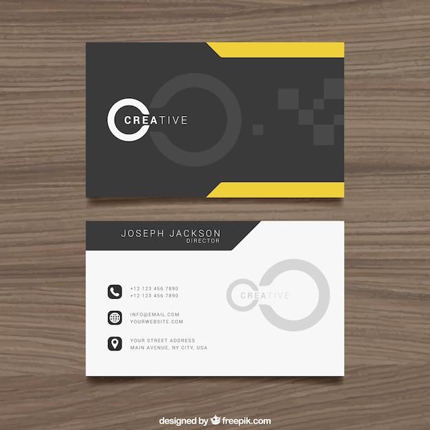 創造的なビジネスカード Premiumベクター