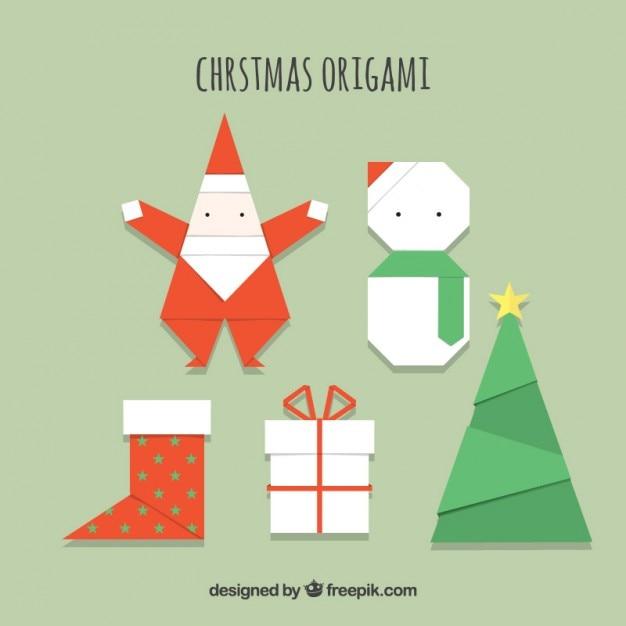 クリスマス 折り紙 折り紙 クリスマス : jp.freepik.com