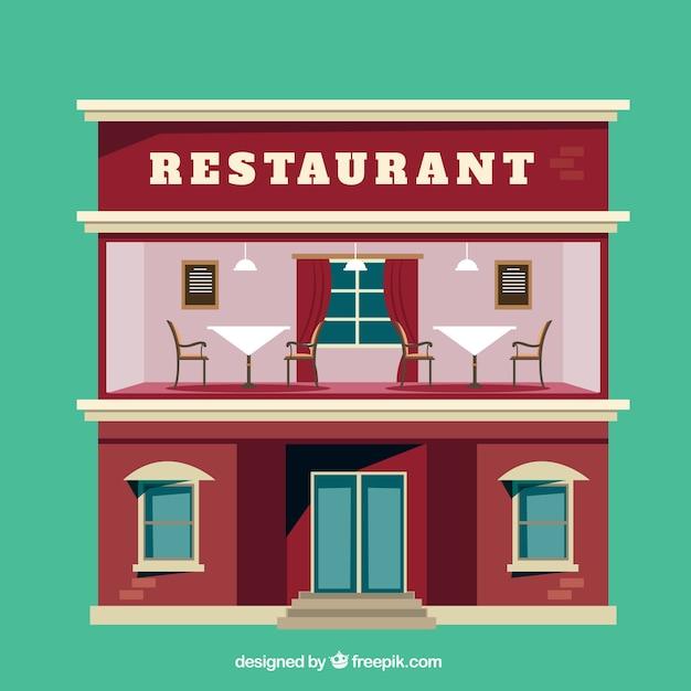 Hotel Restaurant Illustration