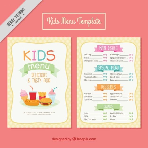 детское меню с доставкой на дом москва