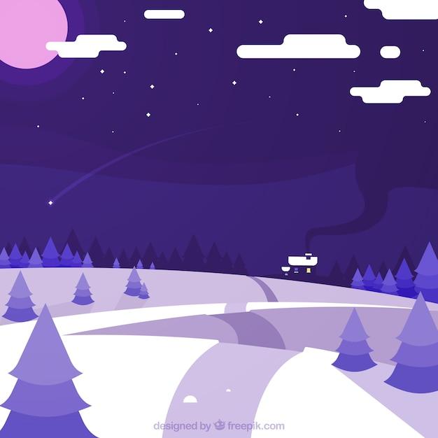 Зима фон снег 5