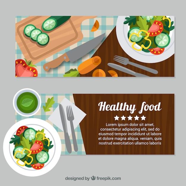 баннер здоровое питание