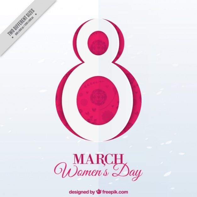 8 марта фон для день женщины Бесплатные векторы