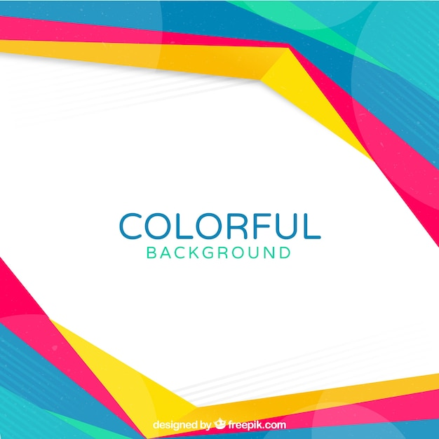 抽象的な色の背景 ベクター画像 無料ダウンロード