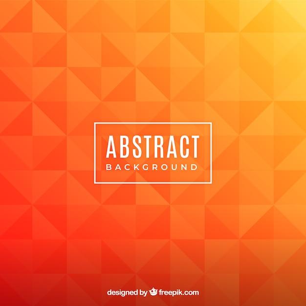 幾何学的なスタイルの抽象的な背景 無料ベクター