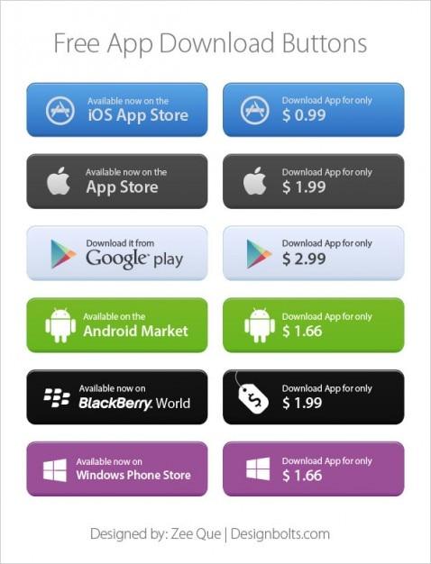 App Storeのダウンロードボタン ... - appps.jp